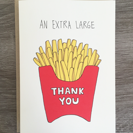 XL Thank You Card
