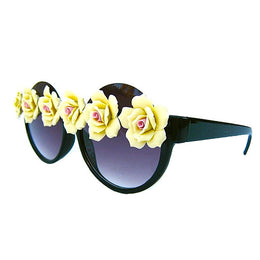 Yellow Floral Sunnies View 2