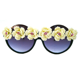Yellow Floral Sunnies