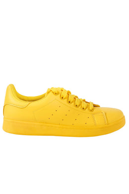 Yellow Tennis Sneaker View 2