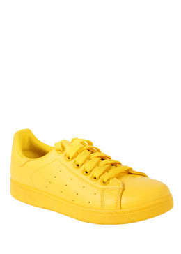 Yellow Tennis Sneaker