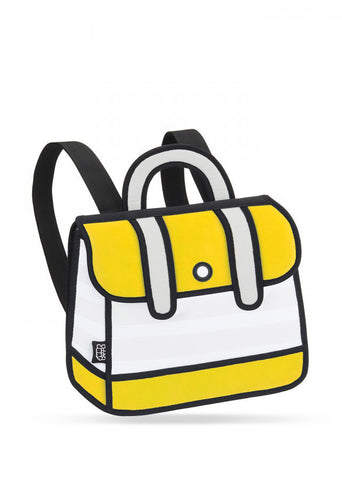 Yellow Stripe Backpack
