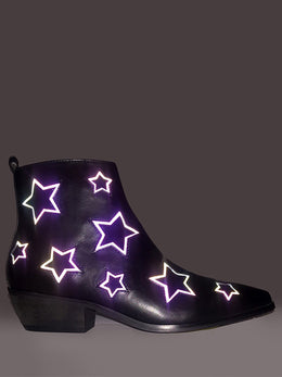 Laso Stars Reflective Boots View 2