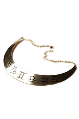 Zodiac Collar Necklace