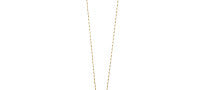 Maiyet Fine Jewelry 18 K Gold, Black Horn and Diamond Large Dagger Slice Necklace