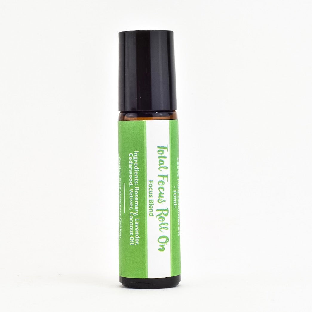 Wholesale Total Focus Essential Oil Roll On Retail Ready