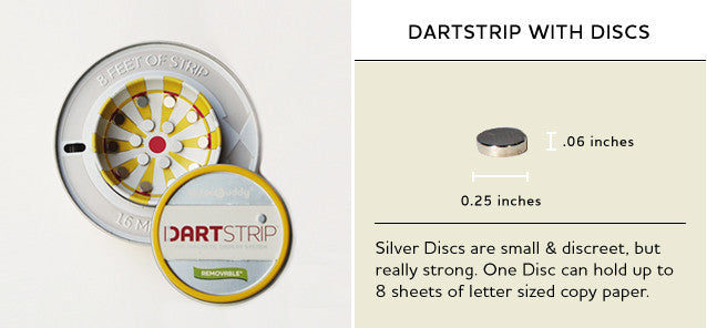 Dartstrip with Discs