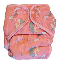 Load image into Gallery viewer, Layla Mae All in One Cloth Diapers One Size Adjustable AIO (Unicorn)