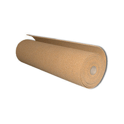 Cork Roll 1/4 Inch (6mm) Thick - 4'x25' - 100 sqft