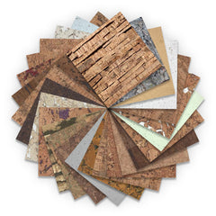 Cork Wall Tile Sample Set