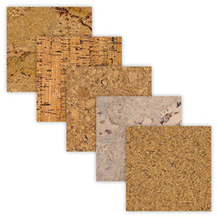 Floating Cork Floor Plank Sample Set