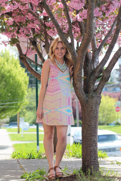 Playful In Pastel Dress