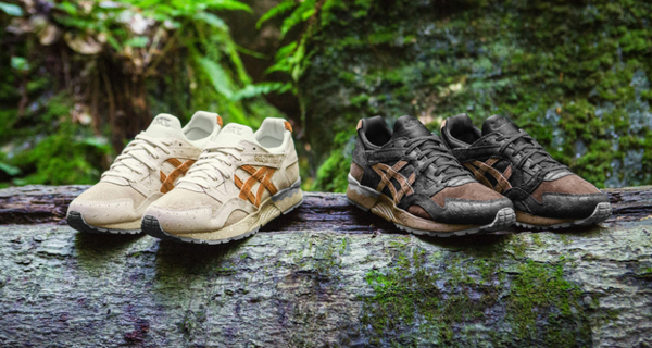 """fed1d8fa4b91 """"Tartufo"""" is a particular mushroom that grows under oak trees in Italy and  it s the particular fungi that inspired this new shoe pack by ASICS."""