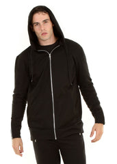 Moto French Terry Zip Hoodie