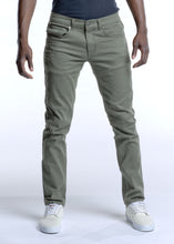 Load image into Gallery viewer, 8183 Olive, Men's Skinny Fit Stretch Jeans
