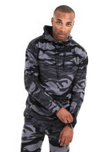 Load image into Gallery viewer, 87074PH Black Camo, Men's Tech Fleece Pullover Hoodie