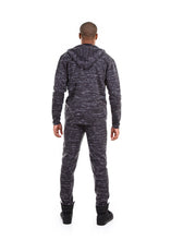 Load image into Gallery viewer, 87074ZH Marled Charcoal, Men's Tech Fleece Zipup Hoodie