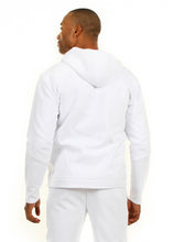 Load image into Gallery viewer, 87074ZH White, Men's Tech Fleece Zipup Hoodie