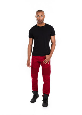 Slim Stretch Moto Twill Pants