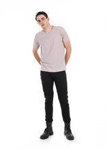 Load image into Gallery viewer, 89086SK Black, Men's Moto Twill Skinny Fit Pants