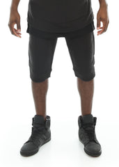 French Terry Biker Shorts
