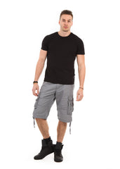 Straight Fit Cargo Shorts