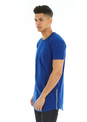 Long Tee with Side Zips