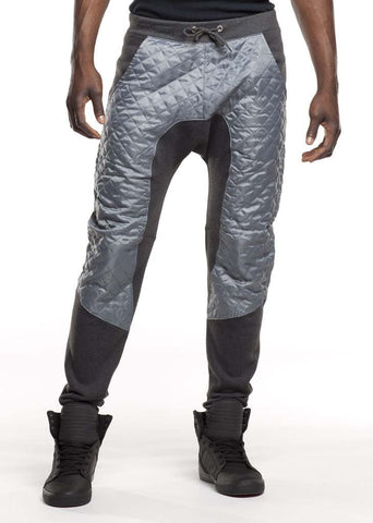 Quilted Fleece Joggers