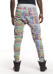 Men's Tribal Print Ares Joggers