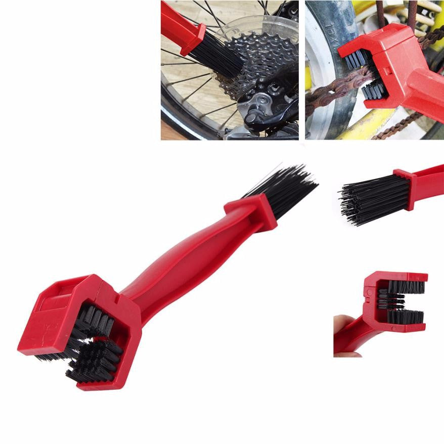 Cycling Bicycle Motorcycle Chain Cleaning Tool Gear Grunge Brush Cleaner Plastic for Wheel Flywheel Bicycle - KOM Cycles