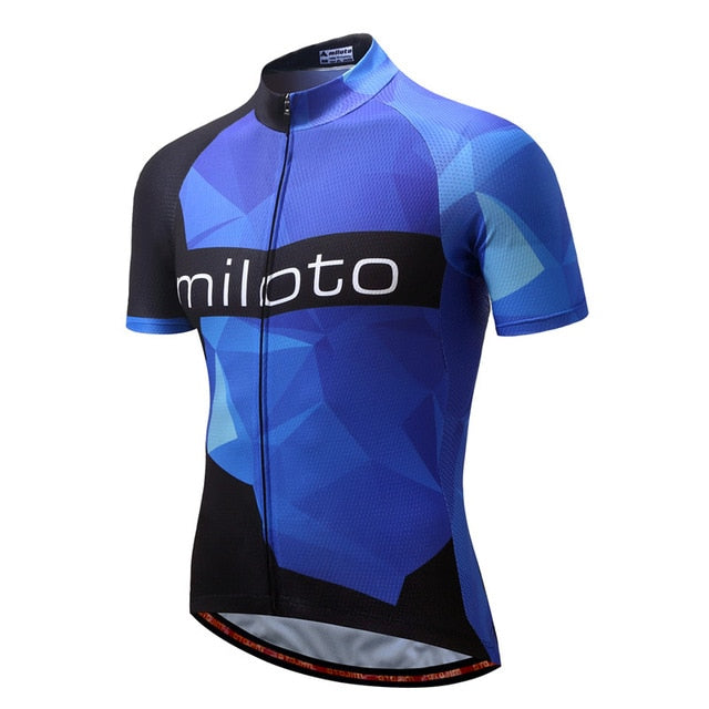 MILOTO Bike Team Pro Cycling Jersey Ropa Ciclismo 2018 mtb Bicycle Cycling Clothing Summer Bike Jersey Shirt Maillot Ciclismo - KOM Cycles
