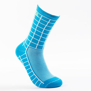DH SPORTS New Top Quality Professional Brand Cycling Socks Breathable Bicycle Bike Socks Outdoor Lattice Racing Cycling Sock - KOM Cycles