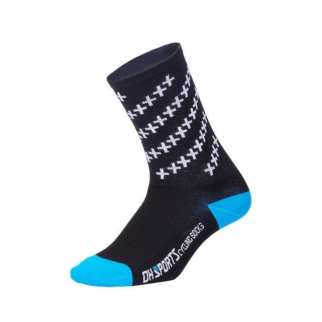 DH SPORTS 2018 New Quality Professional Cycling Socks Men Women Outdoor Road Bicycle Socks Brand Running Compression Sport Socks - KOM Cycles