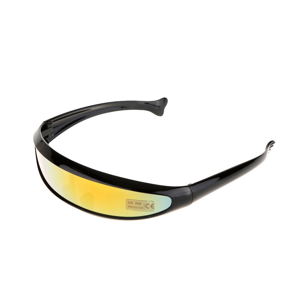 Outdoor Fishtail UV400 Uni-lens Sunglasses Riding Cycling Glasses Eyewear Goggles - KOM Cycles