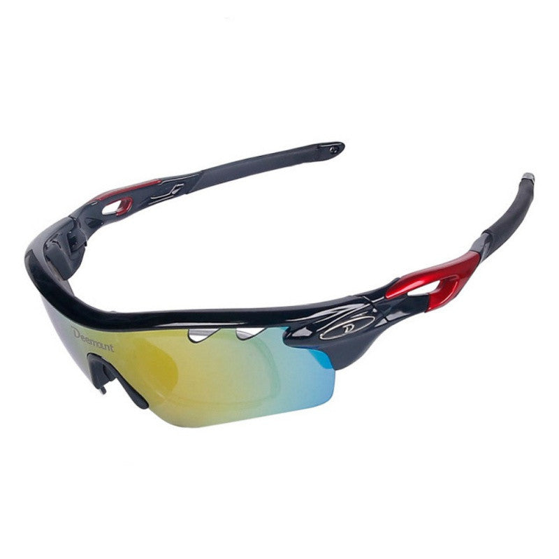 Deemount Cycling Glasses Sports UV Protection Outdoor Sunglasses Cycling Cycling Goggles - KOM Cycles