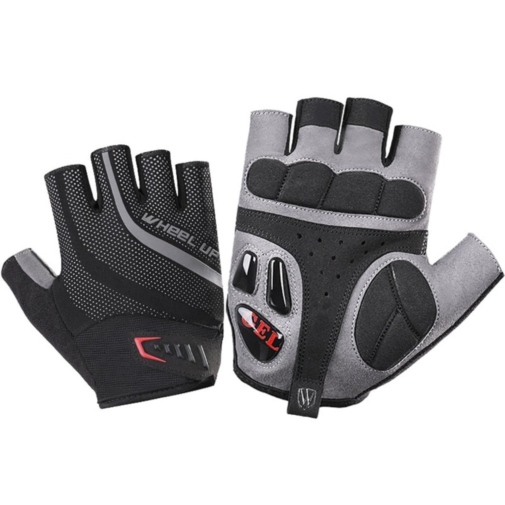 Half Finger Cycling Gloves Gel Bicycle Bike Racing Sport Mountain Cycling Glove Breathable MTB Road Bike Cycling Gloves - KOM Cycles