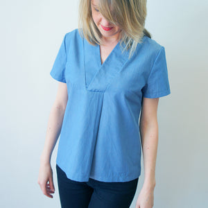 Skipper Tunic Pleat Hack