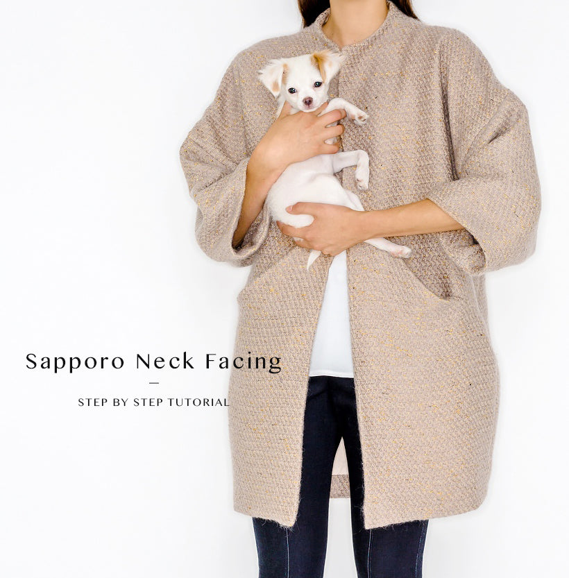 Sapporo Coat Neck Facing