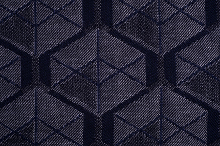 Cuboïdes dark blue