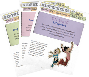 Venture Kits: Business Plans for a DIY Kid-Venture