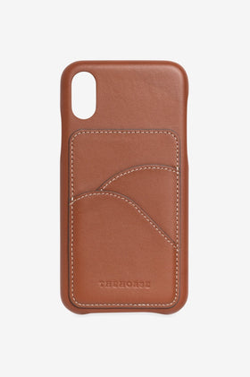 The Horse The Scalloped iPhone Cover - Tan