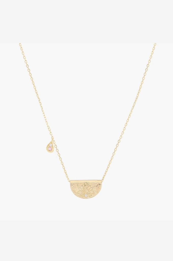By Charlotte Radiate Your Light Necklace - Gold