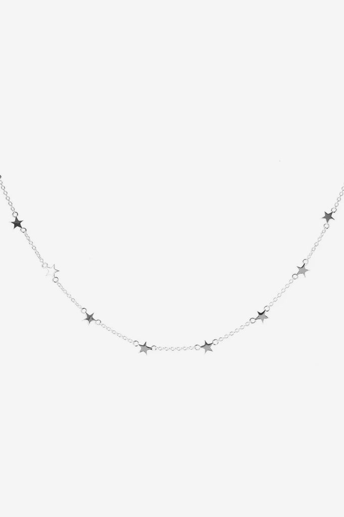 Stolen Girlfriends Club Stolen Star Choker - Silver
