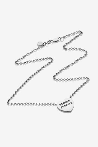 Stolen Girlfriends Club Stolen Forever Necklace - Silver
