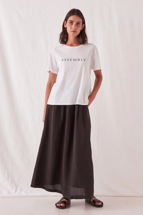 Assembly Clara Tee - White / Black