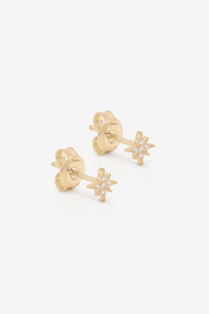 By Charlotte Starlight Earrings - Gold