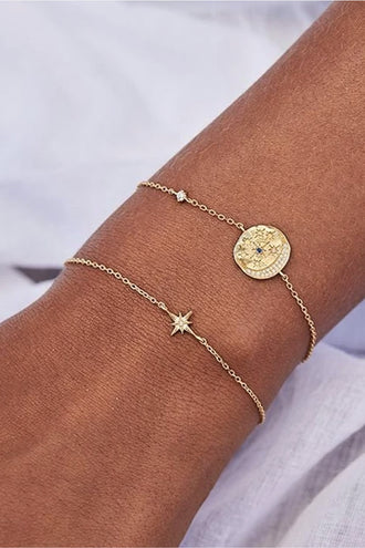 By Charlotte Heavenly Moonlight Bracelet - Gold