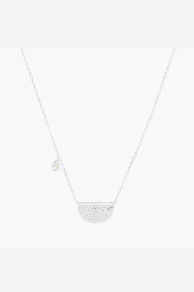 By Charlotte August Protect Your Heart Necklace - Silver