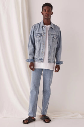 Assembly Renton Denim Jacket - Stone Blue
