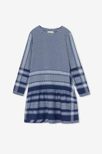 Cecilie Copenhagen Dress 2 O Long Sleeves - Twillight Blue